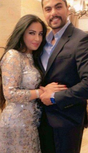 صور عامر السردي مع زوجته نجاح المساعيد