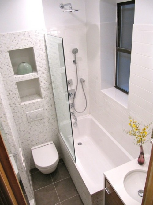 ديكور حمامات صغيرة . 2