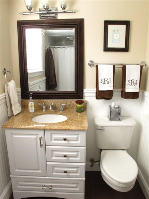 ديكور حمامات صغيرة . 8