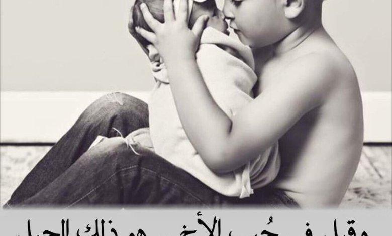Photo of تعبير عن الاخ , اجمل كلام عن الاخ