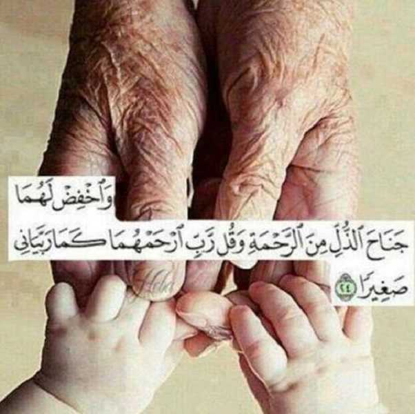 الوالدان بالقران والسنة