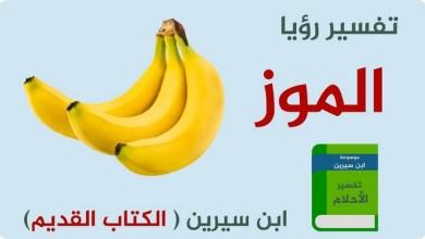 Photo of تفسير حلم الموز عند ابن سيرين مع معنى رؤى الموز في المنام