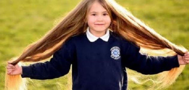 تقوية وتطويل شعر الأطفال