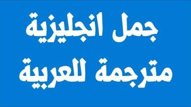 Photo of أهم 100 جملة في اللغة الإنجليزية وترجمتها
