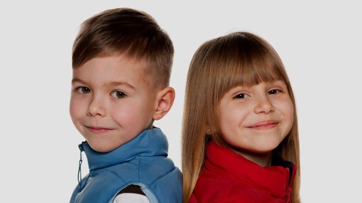 نعومة شعر الأطفال