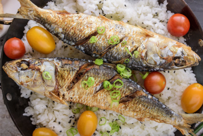 فوائد السمك المشوي للرجيم