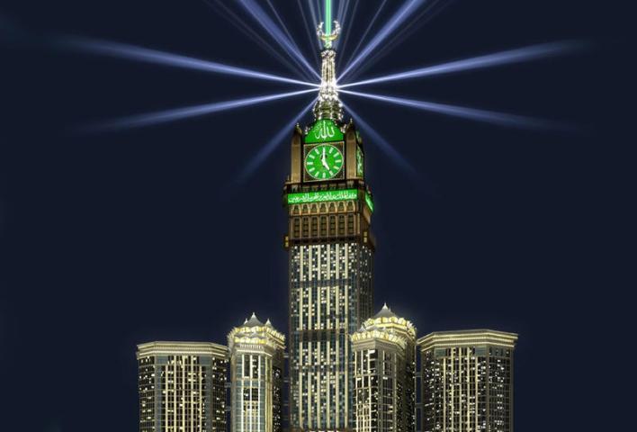 اطول ناطحات سحاب في السعودية