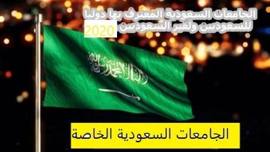 Photo of الجامعات السعودية الخاصة المعترف بها دوليا