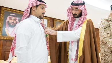 Photo of بالصور.. وزير الحرس الوطني يقلد عدداً من ذوي الشهداء وسام الملك عبدالعزيز