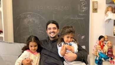 Photo of شاهد: صورة حديثة للأمير عبد العزيز بن فهد برفقة بناته