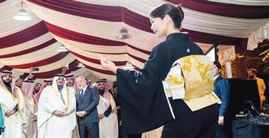 Photo of نائب أمير الرياض في السفارة اليابانية