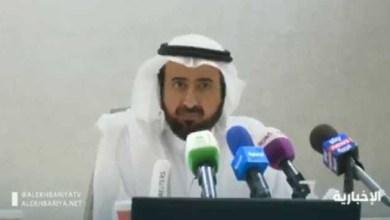 Photo of بالفيديو: وزير الصحة يعلن نتيجة فحص 298 حالة اشتباه بفيروس كورونا في المملكة