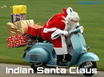 Christmas Jokes In Hindi.5 Best Indian Style Santa Claus Funny Pictures Whatsapp
