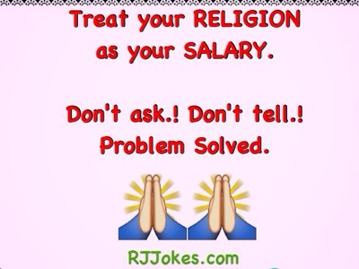 Religion - Dont Ask Dont Tell