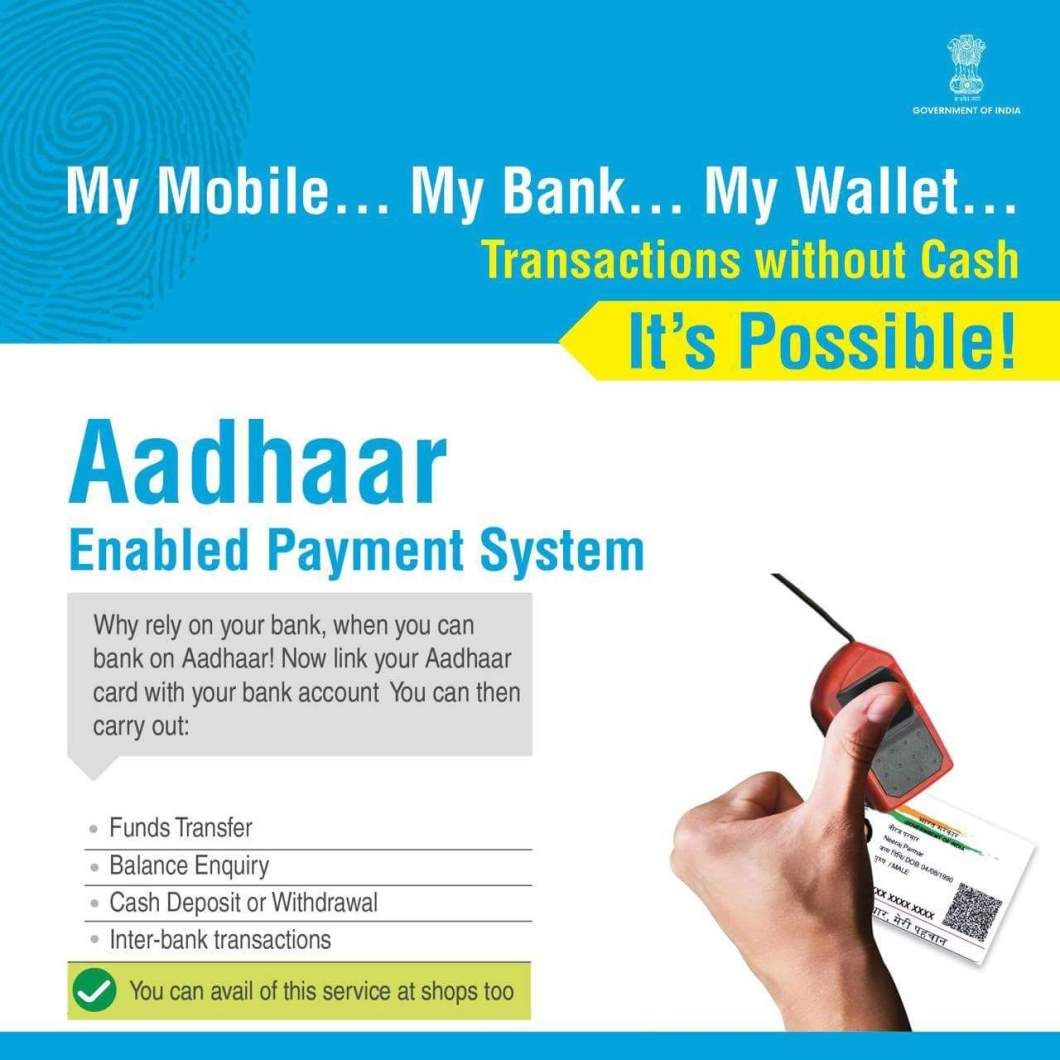 Aadhar enabled payment system Explained