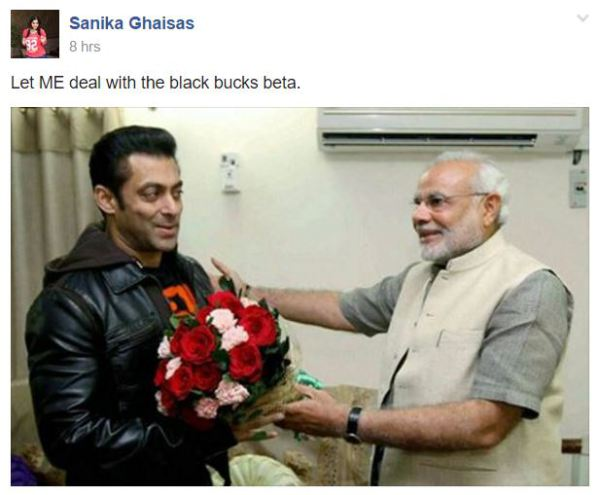 Narendar modi and salman khan