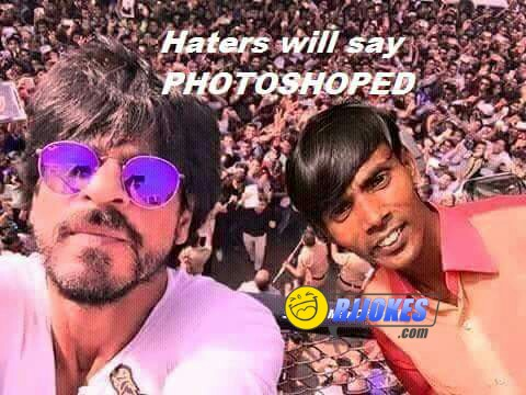 Hero alom and srk jokes