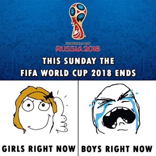 Fifa World cup is over Boys vs Girls