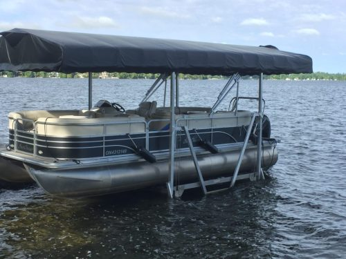 small resolution of pontoon boat lifts