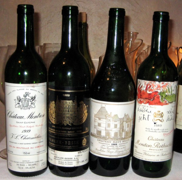1989 Bordeaux horizontal