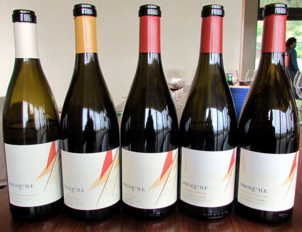 Presqu'ile wines