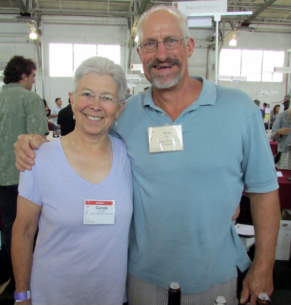 Carole Meredith & Steve Lagier of Lagier Meredith
