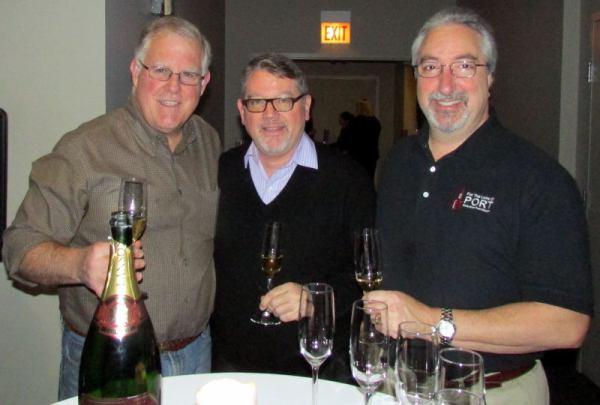 Jamie Garard, RJ and Roy Hersh