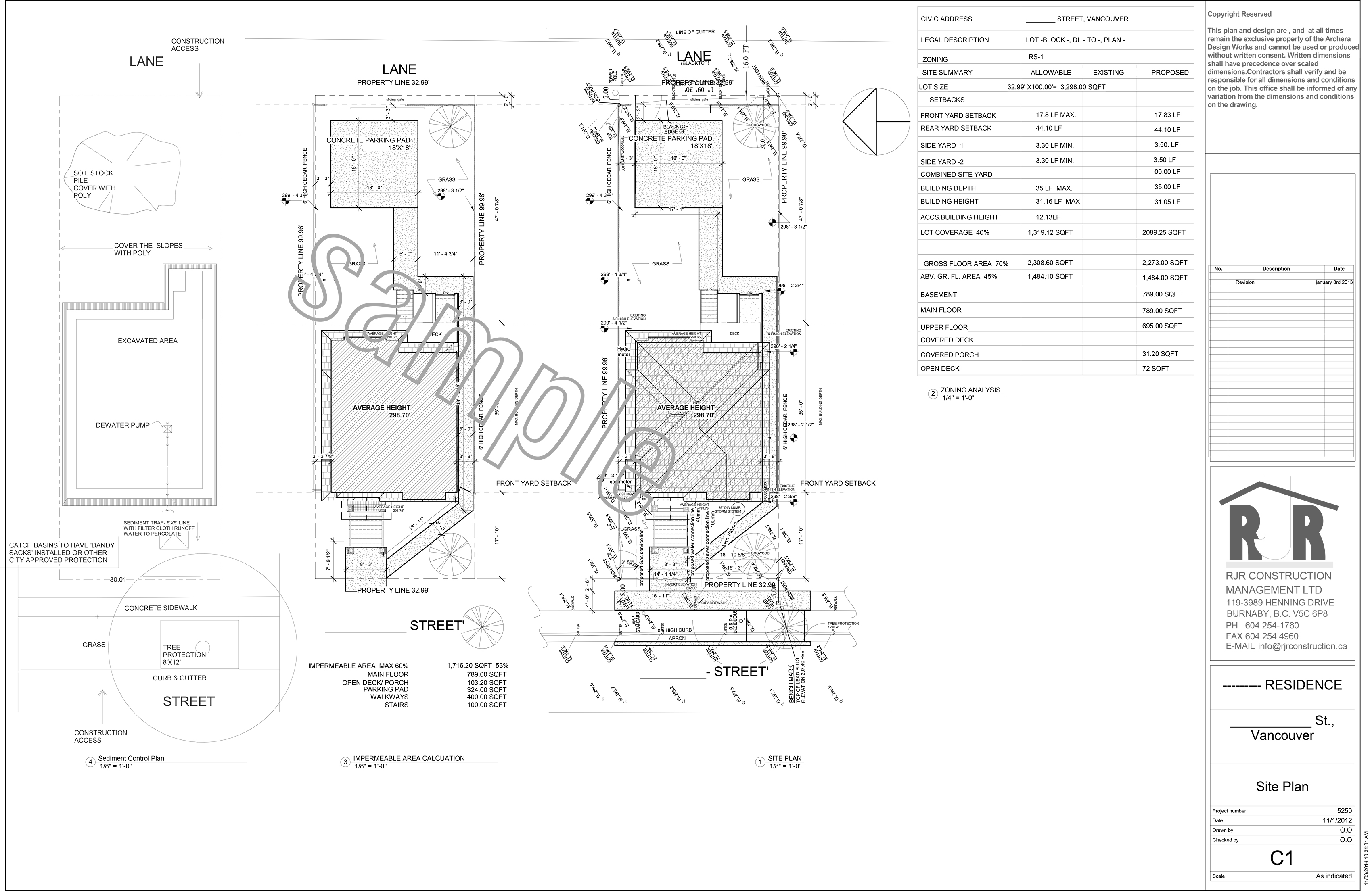 Construction Site: Construction Site Plan