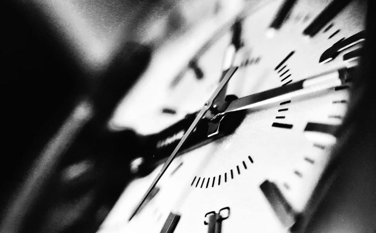 Reloj de agujas