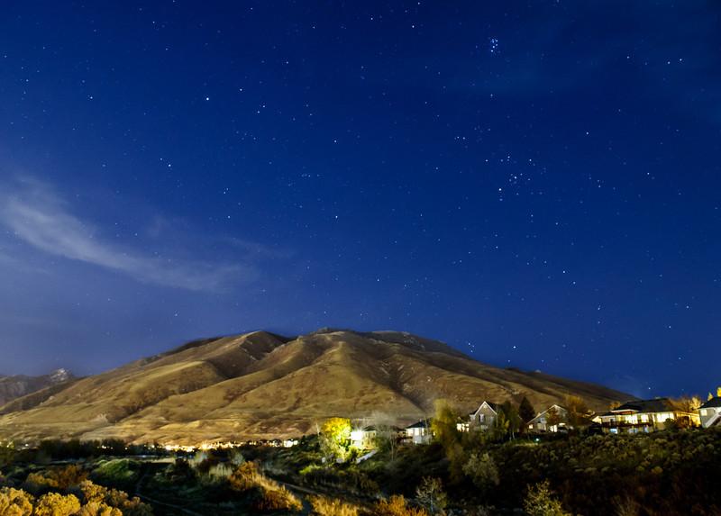 Horizontal Mountain Photo