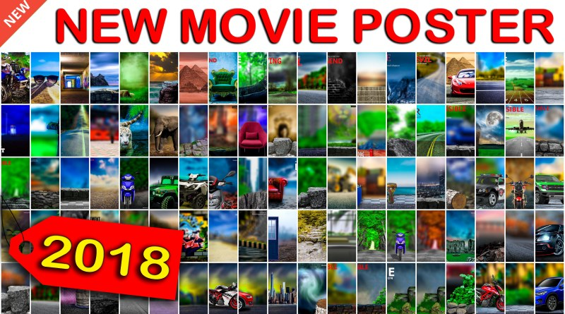 Movie Poster Background Photoshop And Picsart