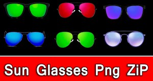 Sun Glasses Png, Real Glasses Png, Goggles Png Zip File