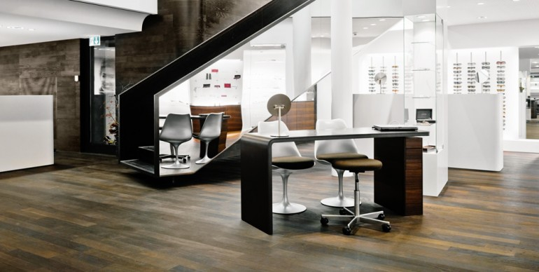 BRTSCHI Eyeglass Shop Retail Interior Design Swiss
