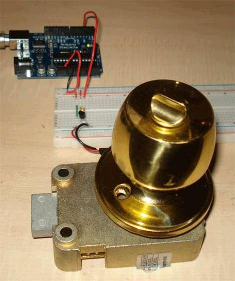 Electronic Door Lock Circuit
