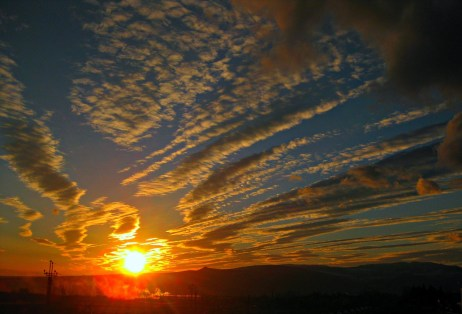 Sunrise into a new day through life coaching
