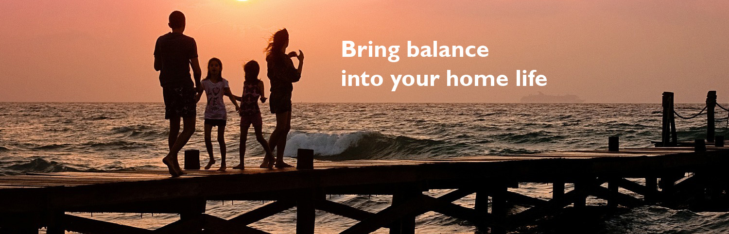 Bring balance into your home life. rklifecoach.com