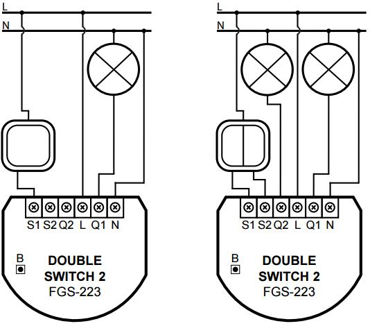 slave 2 way switch wiring diagram