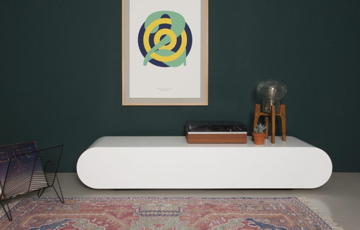 meuble tv blanc studio de creation de