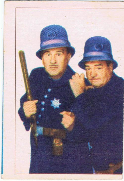 Abbott  Costello 1955 Parkhurst Movie  TV Stars  RK