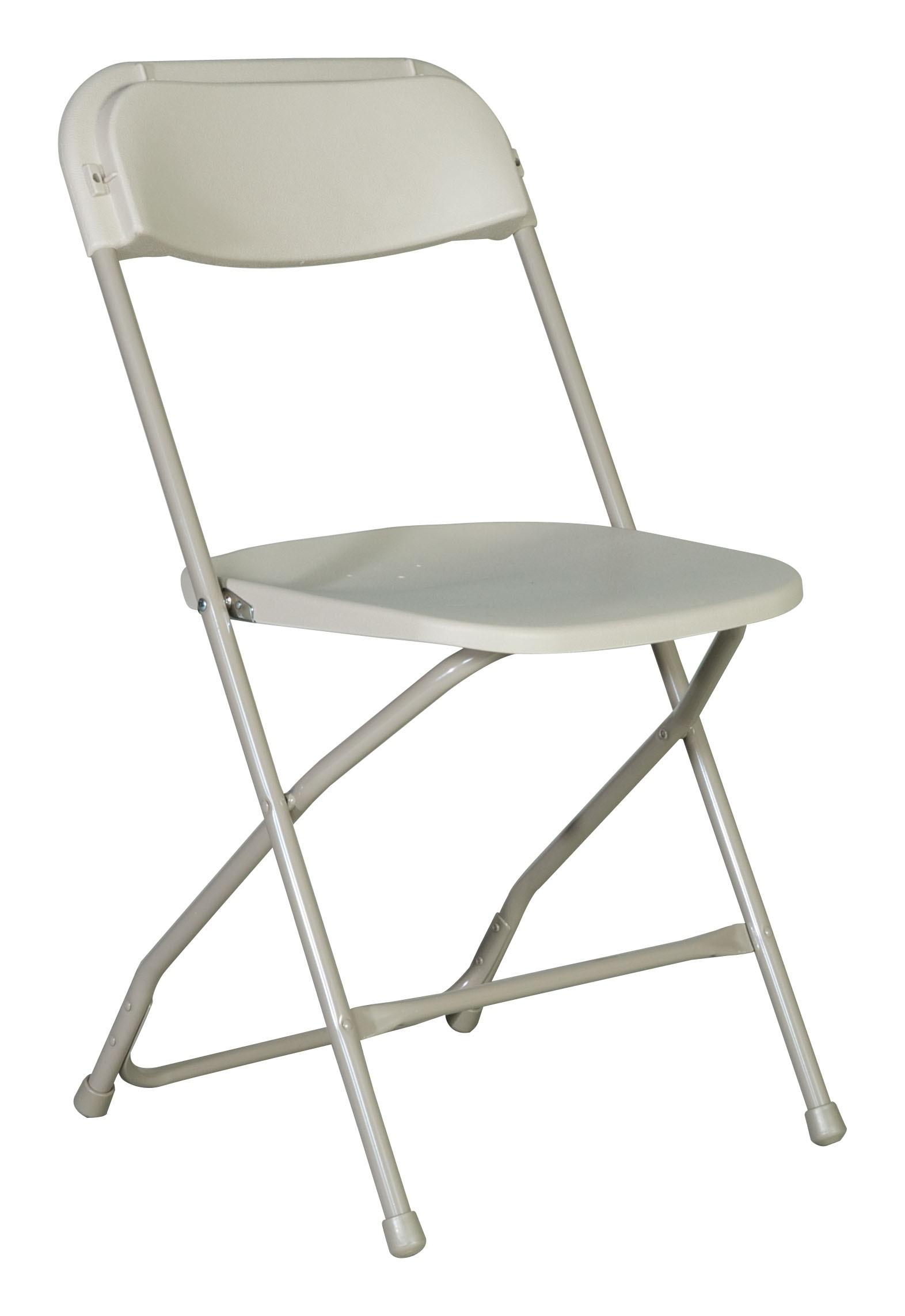 OffWhite Folding Chair  Roland L Appleton Inc