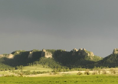 Crown and Crowe Butte Panorama, Crawford, Nebraska