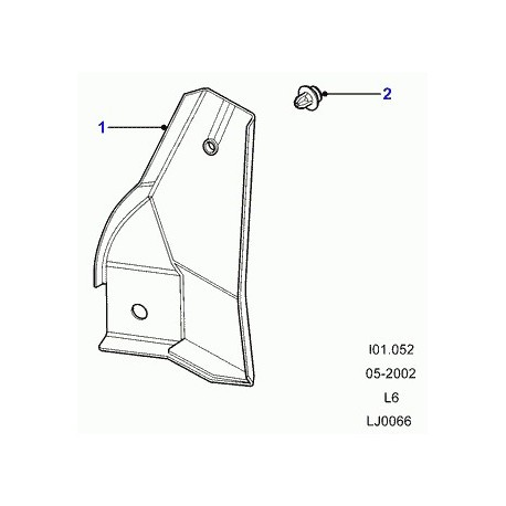 Commander rivet special Defender 90, 110, 130, Discovery 2