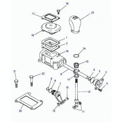 Boîte de transfert et pièces pour LAND ROVER Defender 130