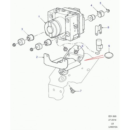 Commander valve de modulation Defender 90, 110, 130 LAND
