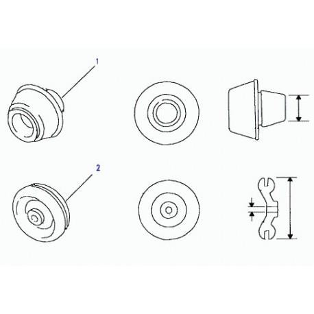 Commander obturateur Defender 90, 110, 130 et Discovery 1