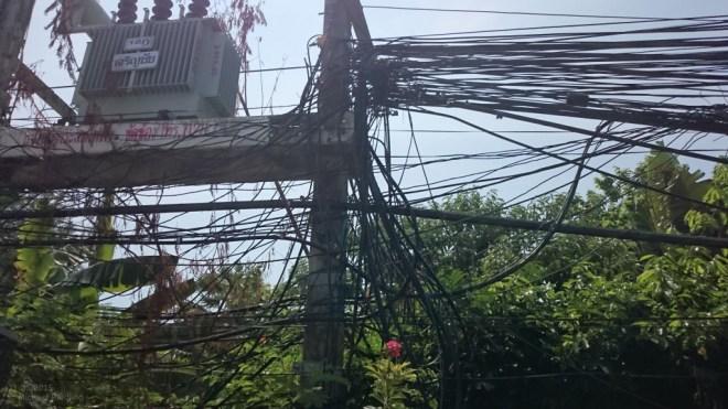 Strom auf Koh Samui: Ordnung ist das halbe Leben