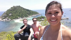 Koh Tao - friends