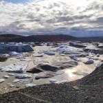 Eisberge im Gletschersee
