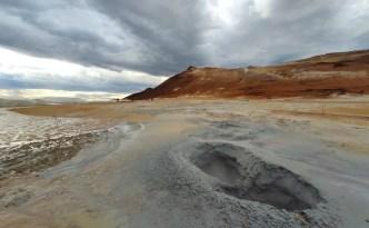 Islands Vulkanlandschaften: hverir