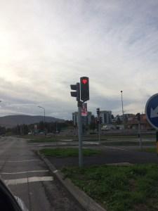 rote Ampeln in Akureyri ❤